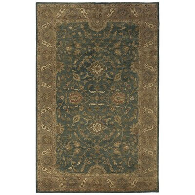 Vatakara Hand-Tufted Slate Area Rug Rug Size: Rectangle 3 x 5