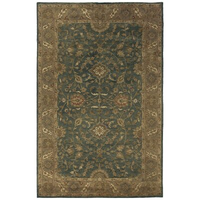 Vatakara Hand-Tufted Slate Area Rug Rug Size: Rectangle 5 x 8