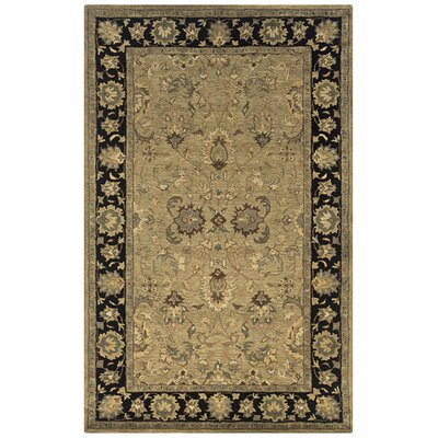 Vedaranyam Hand-Tufted Beige Area Rug Rug Size: Rectangle 5 x 8