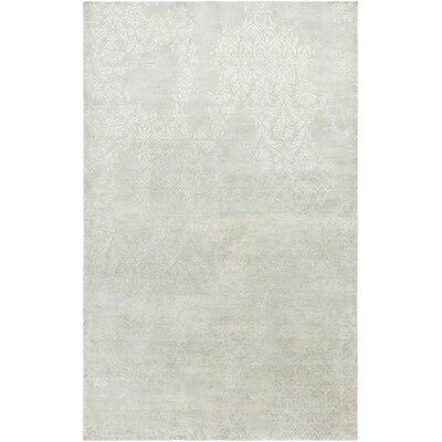 Vijayapura Hand-Knotted Light Blue Area Rug Rug Size: Runner 26 x 8