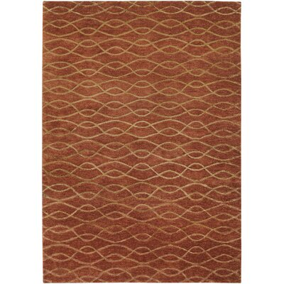 Viluppuram Hand-Knotted Brown Area Rug Rug Size: Rectangle 56 x 86