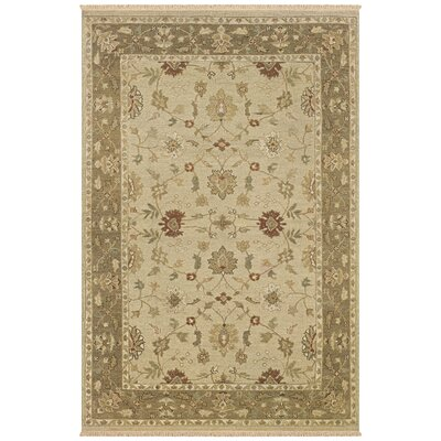 Wara Hand-Woven Beige Area Rug Rug Size: Rectangle 9 x 12