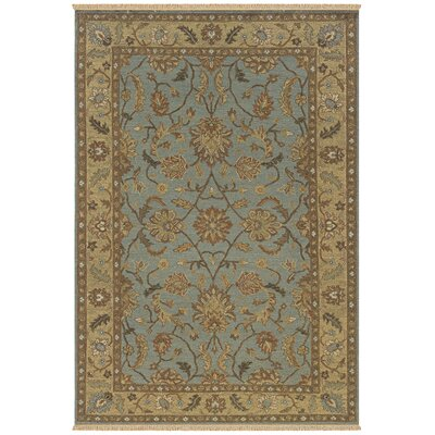 Washim Hand-Woven Light Blue Area Rug Rug Size: Runner 26 x 10