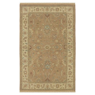 Wokha Hand-Woven Rust Area Rug Rug Size: Rectangle 9 x 12