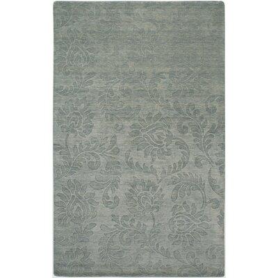 Yanam Hand-Loomed Gray Area Rug Rug Size: 56 x 86