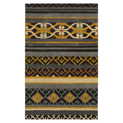 Brazil Hand-Tufted Area Rug Rug Size: Rectangle 5 x 8