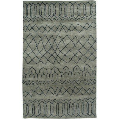 Bodo Hand-Tufted Gray Area Rug Rug Size: Rectangle 9' x 12'