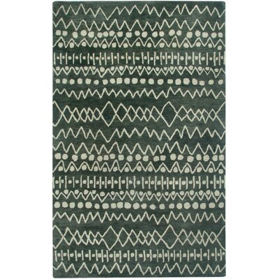 Labrador Hand-Tufted Charcoal Area Rug Rug Size: Runner 26 x 8