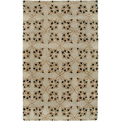 Georgia Hand-Tufted Beige Area Rug Rug Size: Rectangle 2 x 3