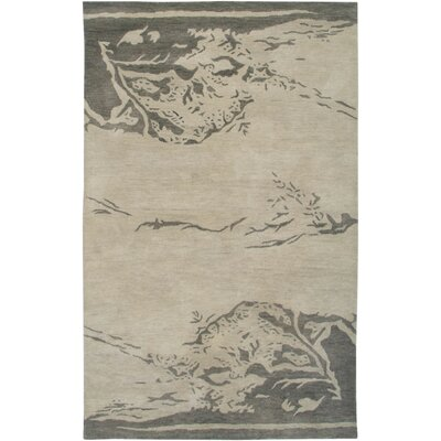 Florida Hand-Tufted Beige Area Rug Rug Size: Rectangle 9 x 12