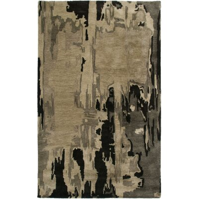 Jersey Hand-Tufted Brown Area Rug Rug Size: 9 x 12