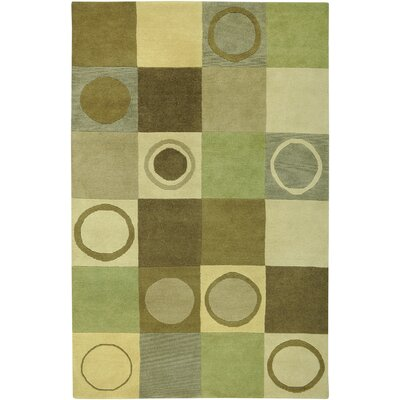 Ireland Hand-Knotted Beige Area Rug Rug Size: Rectangle 5 x 8