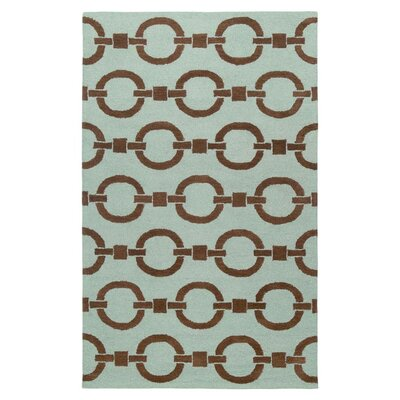 Sierra Hand-Tufted Blue Area Rug Rug Size: Runner 26 x 8