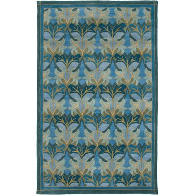 Galway Hand-Tufted Blue Area Rug Rug Size: Rectangle 9 x 12