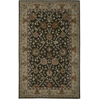 Libreville Hand-Tufted Brown/Beige Area Rug Rug Size: Rectangle 5 x 8