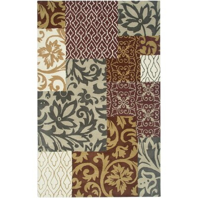 Lome Hand-Tufted Beige Area Rug Rug Size: Rectangle 2 x 3