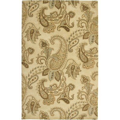 Reykjavik Hand-Tufted Beige Area Rug Rug Size: Rectangle 2 x 3