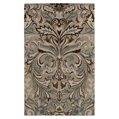 Cruz Hand-Tufted Brown Area Rug Rug Size: 9 x 12