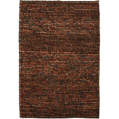 Stornoway Hand-Woven Brown Area Rug Rug Size: Rectangle 3 x 5