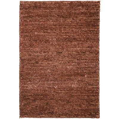 Shannon Hand-Woven Brown Area Rug Rug Size: Rectangle 8 x 10