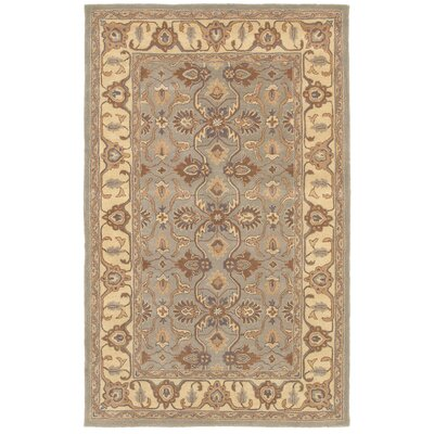 Shen Hand-Tufted Gray/Beige Area Rug Rug Size: 2 x 3