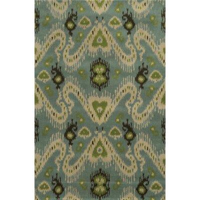 Ravenna Hand-Tufted Blue Area Rug Rug Size: 5 x 8