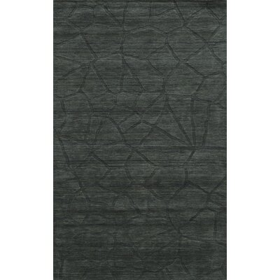 Chioggia Hand-Loomed Gray Area Rug Rug Size: 5 x 8