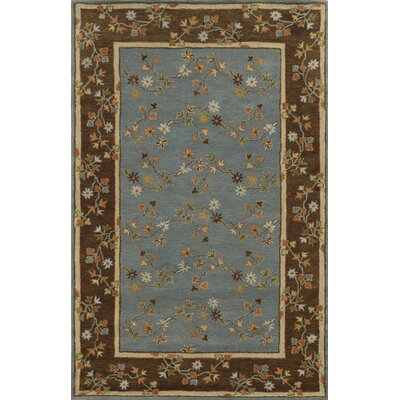 Mariupol Hand-Tufted Gray/Brown Area Rug Rug Size: 5 x 8