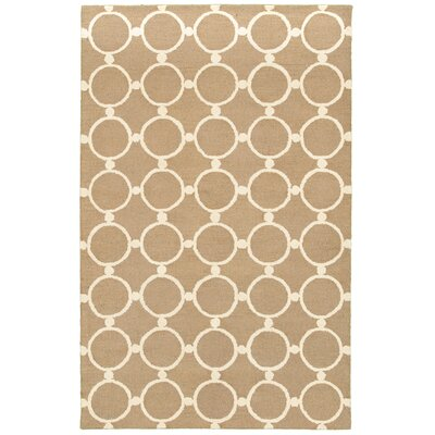 Taganrog Hand-Tufted Natural Area Rug Rug Size: 3 x 5