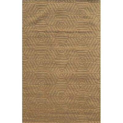 Bayonne Hand-Loomed Brown Area Rug Rug Size: 9 x 12