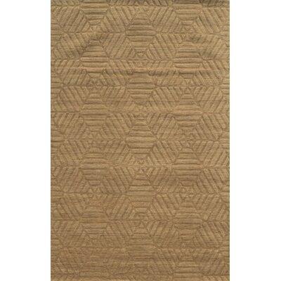 Bayonne Hand-Loomed Brown Area Rug Rug Size: 2 x 3