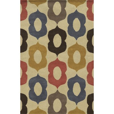 Sables Hand-Tufted Area Rug Rug Size: 5 x 8