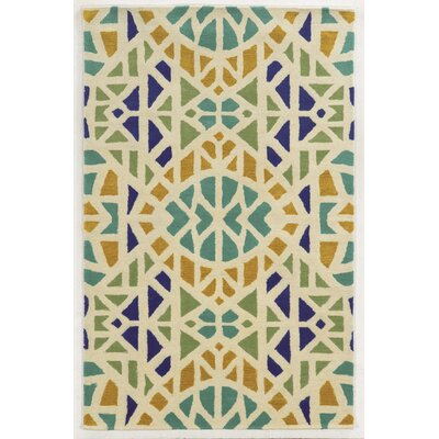 D'Olonne Hand-Tufted Area Rug Rug Size: Round 8'
