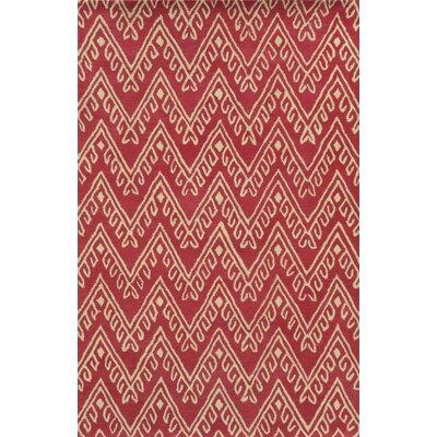 Navodari Hand-Tufted Hot Pink Area Rug Rug Size: 3 x 5