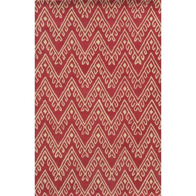Navodari Hand-Tufted Hot Pink Area Rug Rug Size: Rectangle 5 x 8
