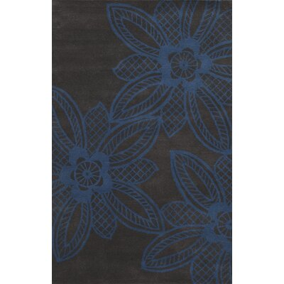 Sukhumi Hand-Tufted Blue/Grey Area Rug Rug Size: Rectangle 5 x 8