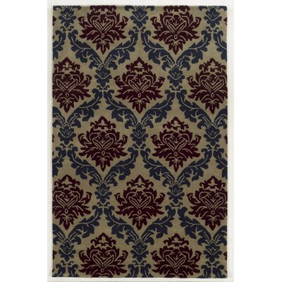 Aruba Hand-Tufted Blue/Purple Area Rug Rug Size: 8 x 10