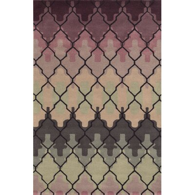 Domingo Hand-Tufted Area Rug Rug Size: 5 x 8