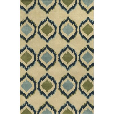 Cherbourg Hand-Tufted Area Rug Rug Size: Runner 26 x 8