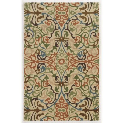 Le Havre Hand-Tufted Area Rug Rug Size: 5 x 8