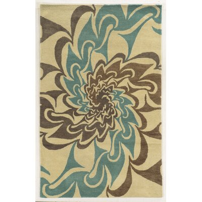 Teignmouth Hand-Tufted Area Rug Rug Size: Rectangle 5 x 8