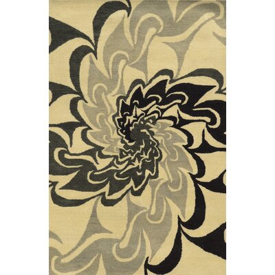 Burns Hand-Tufted Area Rug Rug Size: 3 x 5