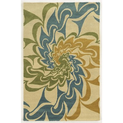 Indiana Hand-Tufted Area Rug Rug Size: Rectangle 5 x 8