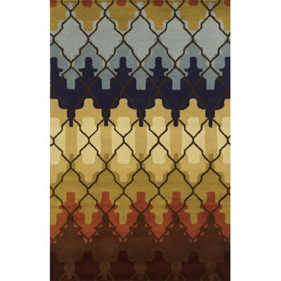 Portage Hand-Tufted Area Rug Rug Size: 5 x 8