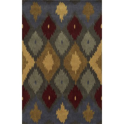 Illinois Hand-Tufted Area Rug Rug Size: Round 8