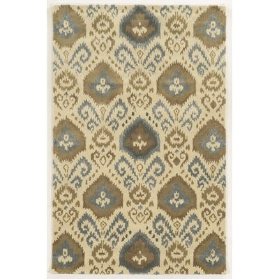 Wisconsin Hand-Tufted Ivory Area Rug Rug Size: 3 x 5