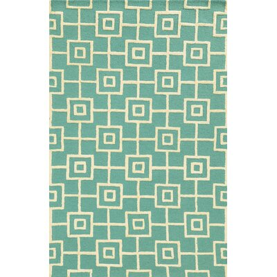 Toronto Hand-Tufted Blue Area Rug Rug Size: Runner 26 x 8