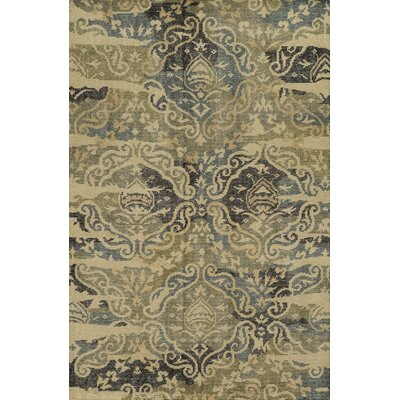 Caernarfon Hand-Knotted Area Rug Rug Size: Rectangle 3 x 5