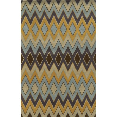 Dundalk Hand-Tufted Area Rug Rug Size: Runner 26 x 8
