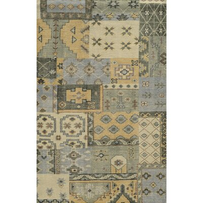 Fishguard Hand-Knotted Area Rug Rug Size: Rectangle 5 x 8